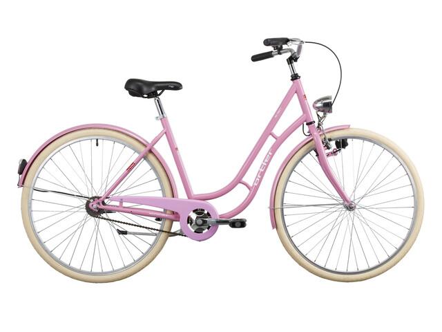 Ortler Detroit Hollandcykel Citycykel Dam Rosa